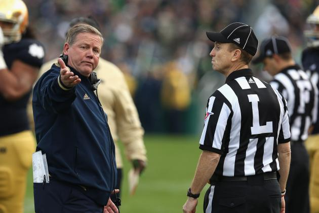 BCS National Championship Game: Will Pac-12 Officiating Ruin the Title Game?
