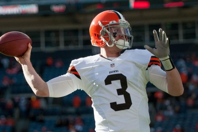 Brandon Weeden Injures Shoulder vs. Broncos