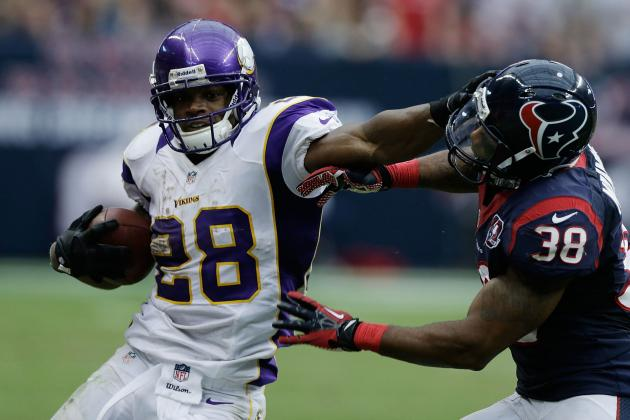 Adrian Peterson Held to 86 Yards, Rushing Record in Jeopardy?