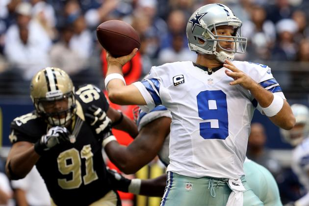 Saints vs. Cowboys: Don't Blame Tony Romo for Dallas' Failure vs. New Orleans