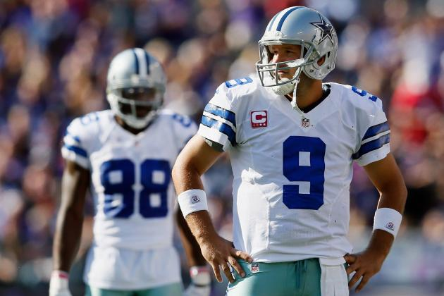 Tony Romo and Dez Bryant Shine Again (But It's Still Not Enough)