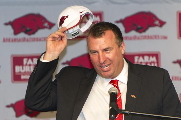 Arkansas Football: What Bret Bielema Can Do to Promote the Razorback Program