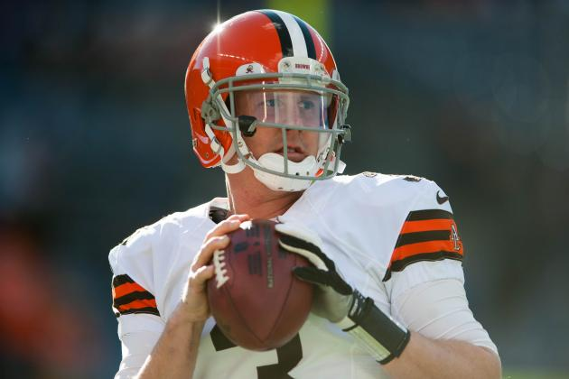 Brandon Weeden: Updates on Browns QB's Shoulder Injury