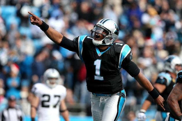 Raiders vs. Panthers: Cam Newton Shows a Little Bad, a Lot of Good