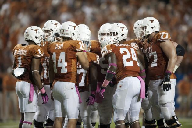 Texas Football: Projecting the Longhorns' 2013 Offensive Depth Chart