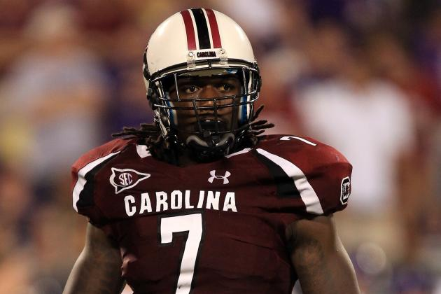 2013 Outback Bowl: Stopping South Carolina's Clowney Must Be Michigan's Mission