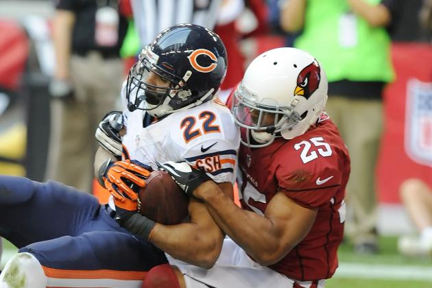 Bears RB Forte Injures Ankle Against Cardinals