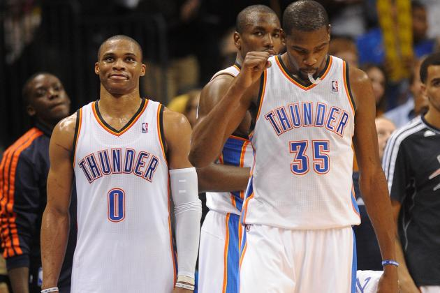 Kevin Durant and Russell Westbrook's OKC Thunder Pairing Is Better Than Ever