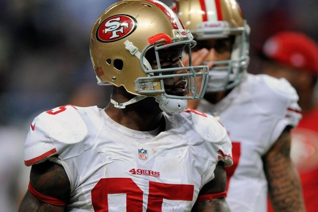 Vernon Davis Questionable to Return vs. Seahawks