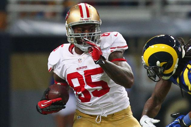 After Taking Hard Shot, 49ers TE Vernon Davis Suffers Concussion