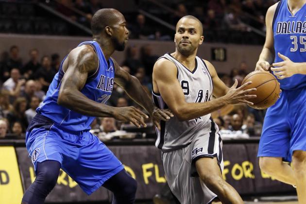 Spurs Spoil Dirk Nowitzki's Return, Blowout Mavericks 129-91