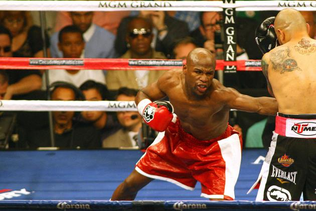 Will Floyd Mayweather's Money Troubles Impact  His Peformance in 2013?