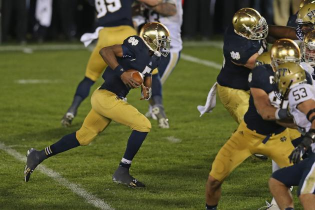 BCS Championship Game: Over/Under 2 Turnovers for Everett Golson