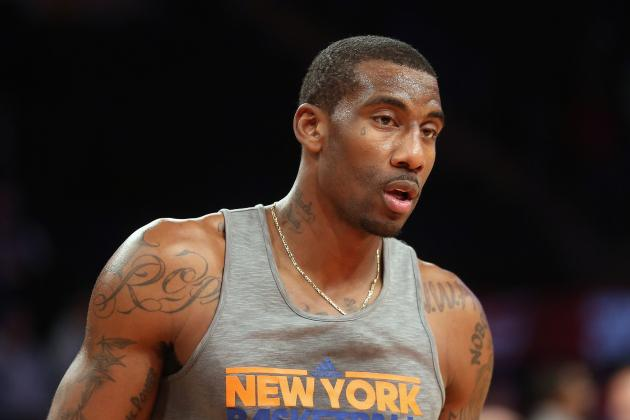 What Are Knicks Going to Do When Amar'e Stoudemire Is Healthy?