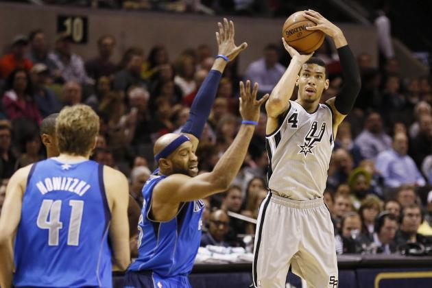 Video: Watch the Spurs Drain 20 Three-Pointers on Mavs