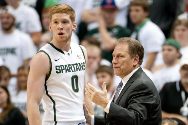 Michigan State Basketball: How Much Time Will Izzo Give Struggling Byrd?