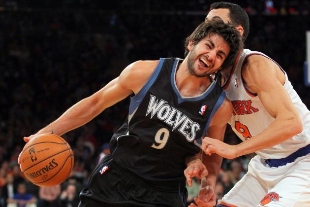 Timberwolves' Ricky Rubio Has a Game to Forget in Loss to Knicks
