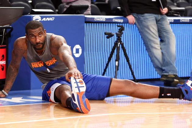 Will Amar'e Stoudemire Work off the Bench for NY Knicks?