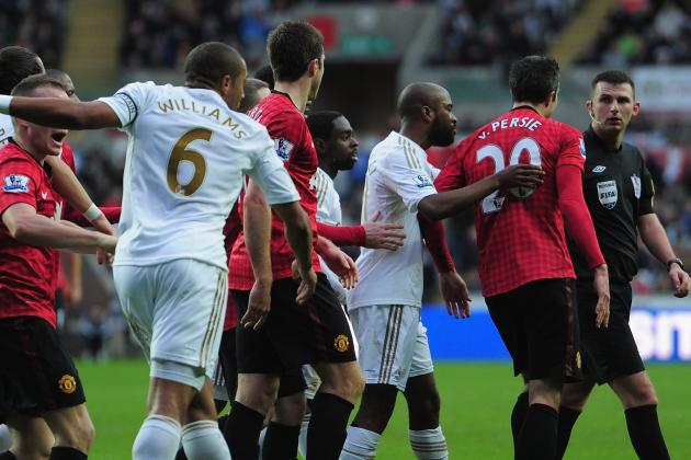 Ashley Williams Will Not Face FA Action over Robin Van Persie Incident