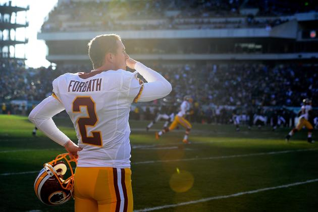 Redskins' Kai Forbath, Still Kicking Up a Storm, Sets NFL Record