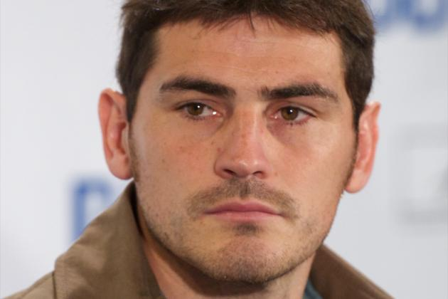 Iker Casillas Accepts José Mourinho Dropping Him for Málaga Game