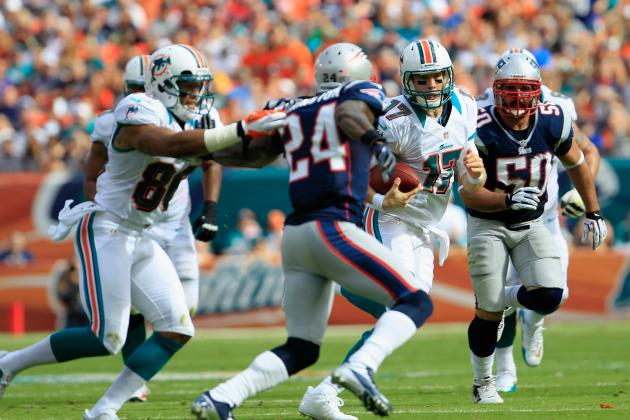 Dolphins-Patriots Game Moved to 4:25 P.m.