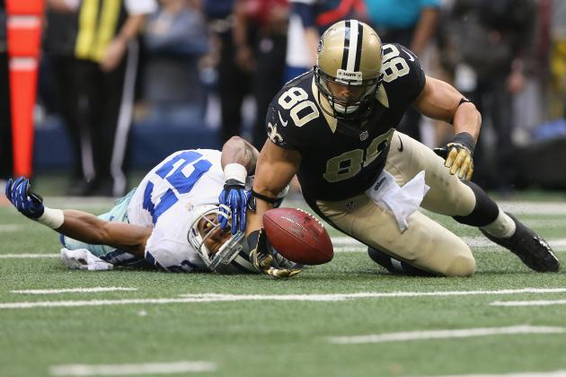 Jimmy Graham's Hustling Heroics Epitomize Gritty New Orleans Saints Win