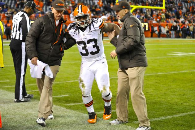 Trent Richardson Injury: Updates on Browns RB's Leg