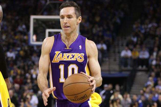Lakers' Screen and Roll with Steve Nash Is Potent Already
