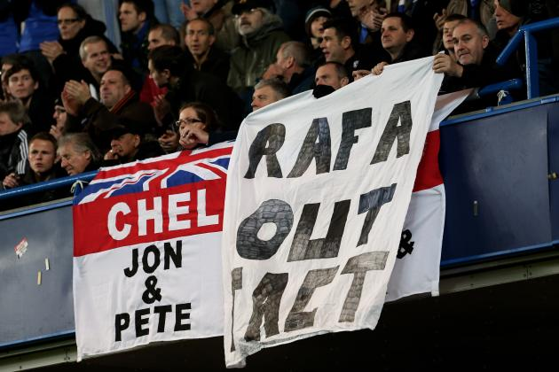 Rafael Benitez Still to Win Over Chelsea Supporters Despite Villa Demolition