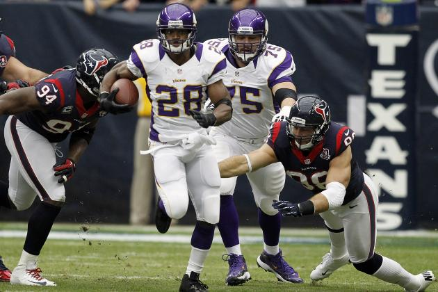 Adrian Peterson Fails to Break Eric Dickerson's Single-Season Rushing Record