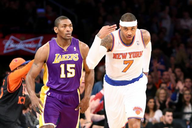 New York Knicks vs. Los Angeles Lakers: Preview, Analysis and Predictions