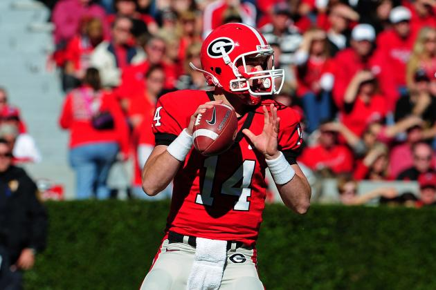 Hutson Mason Bides His Time as Georgia's 'QB-in-Waiting'