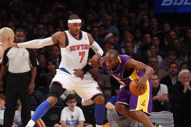 Kobe Bryant vs. Carmelo Anthony: Who Is the Purest Scorer?