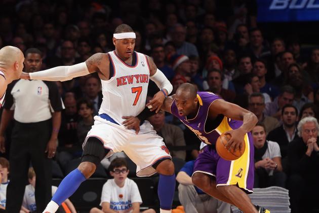 Kobe Bryant vs. Carmelo Anthony: Who Is the Purest Scorer?