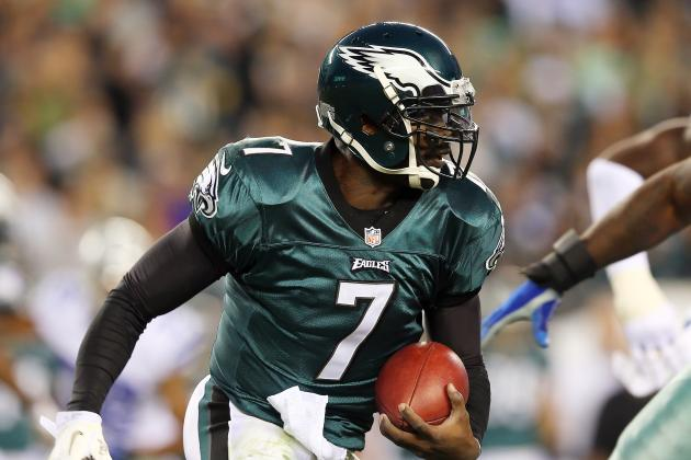 Reid: Pretty Good Chance Vick Starts vs. Giants