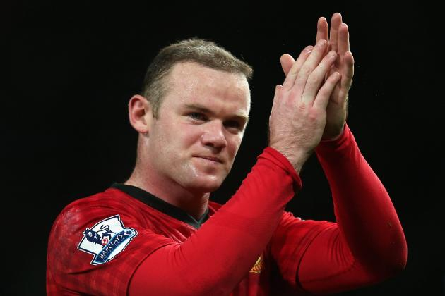 Manchester United: Wayne Rooney Report Card for 2012