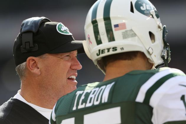 Report: Tim Tebow Told Rex Ryan on Friday He'd Play