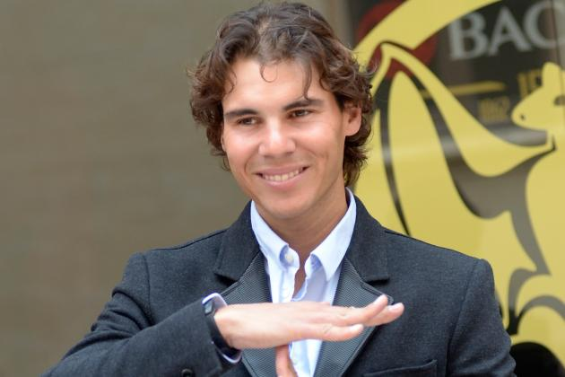 Nadal Nervous About Return from Knee Injury