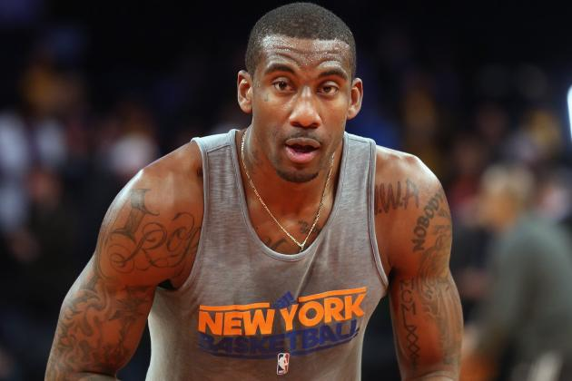 Knicks News: Amar'e Stoudemire's Imminent Return Will Be Welcomed