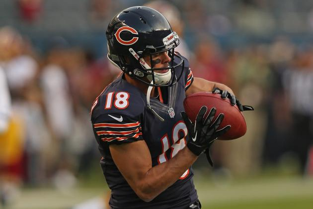 Bears Waive WR Sanzenbacher
