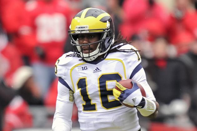 Ex-NFL GM Says Michigan's Denard Robinson Could Be Conerback in Pros