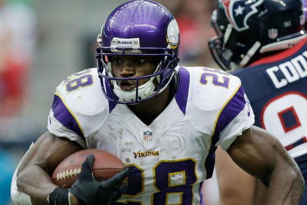 Vikings Vying for Playoffs Though Peterson Is Sore