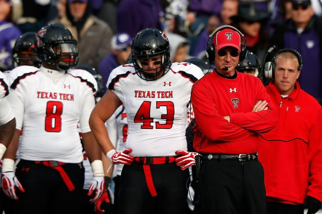 Texas Tech Arrives in Houston Eager for Bowl Apperance