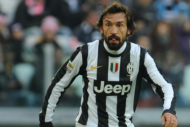 Andrea Pirlo: Report Card for Juventus' Bearded Genius