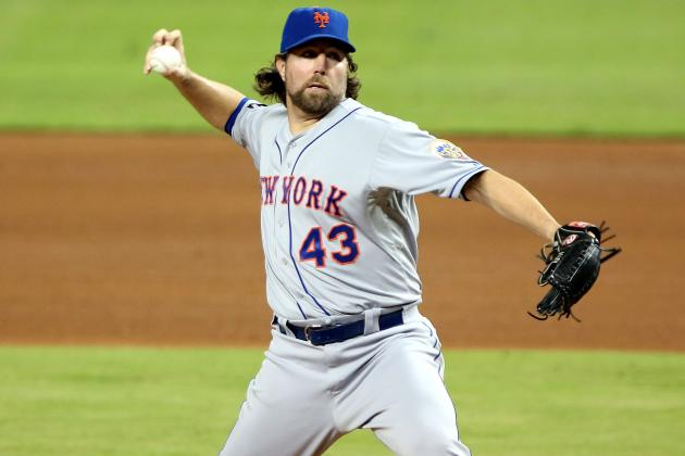 New York Mets Trade R.A. Dickey with Future in Mind