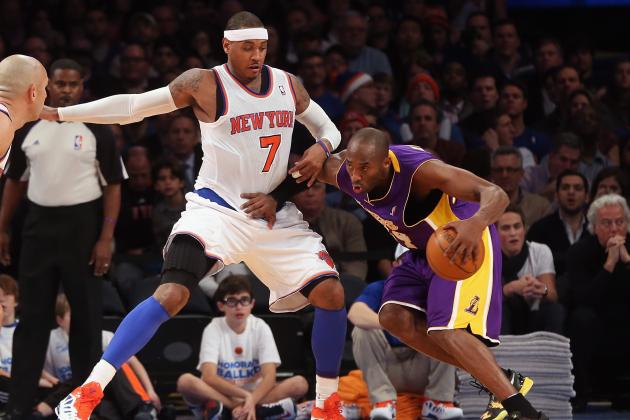 D'Antoni Will Show Differences in Makeup Between Kobe Bryant and Carmelo Anthony