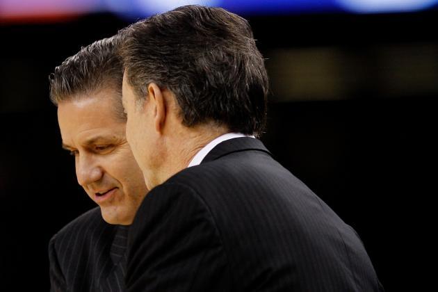 Kentucky vs. Louisville: Is Calipari or Pitino the Greater Kentucky Coach?