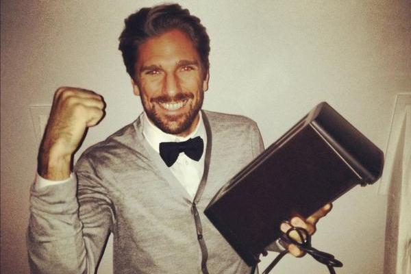 Picture: Henrik Lundqvist Is Super Pumped About Getting a Toaster