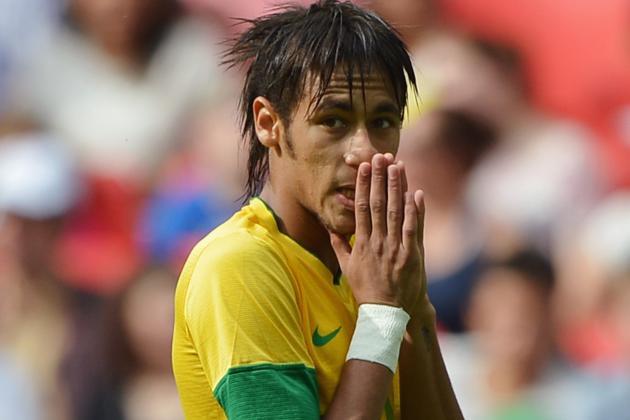 Manchester City Steps Up Neymar Chase